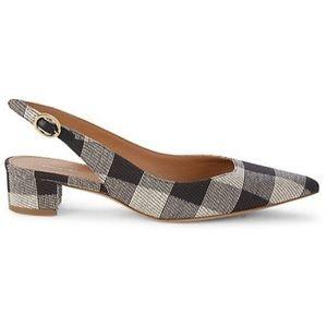 $475 Mansur Gavriel 8 1/2 Slingback Pumps Heels